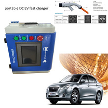 professional DC fast portable EV charger with CHAdeMO connector