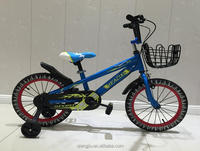 New color kids ride on cute bicycle for child to drive LED training wheels