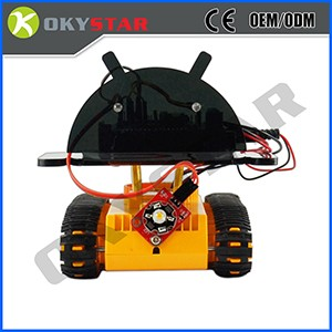2WD Intelligent Chassis Car Robot multi hole smart car kit for Arduino
