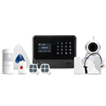 WIFI/GSM/GPRS/SMS app control simple home security smart alarm system gsm system