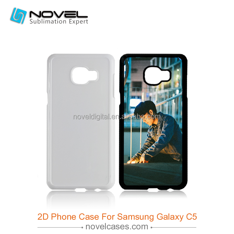Custom printable 2d sublimation blank phone case for Samsung C5