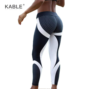 2018 Mesh Pattern Print Women Leggings Fitness Soft Comfortable Leggins Women Push Up Leggings plus size Sports Yoga Leggings