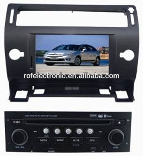 Car DVD Player for citroen C4/C-Quatre/C-Triumph with GPS Navigation