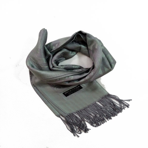 New fashion woven plaid mir cashmere scarf