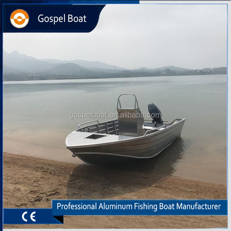 New 4.7m Aluminum Fishing Boats Builder