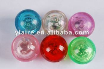 rubber bounce light ball