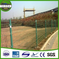 China supplier High quality 6ft wire mesh fence/pvc coated 1x1 wire mesh fencing