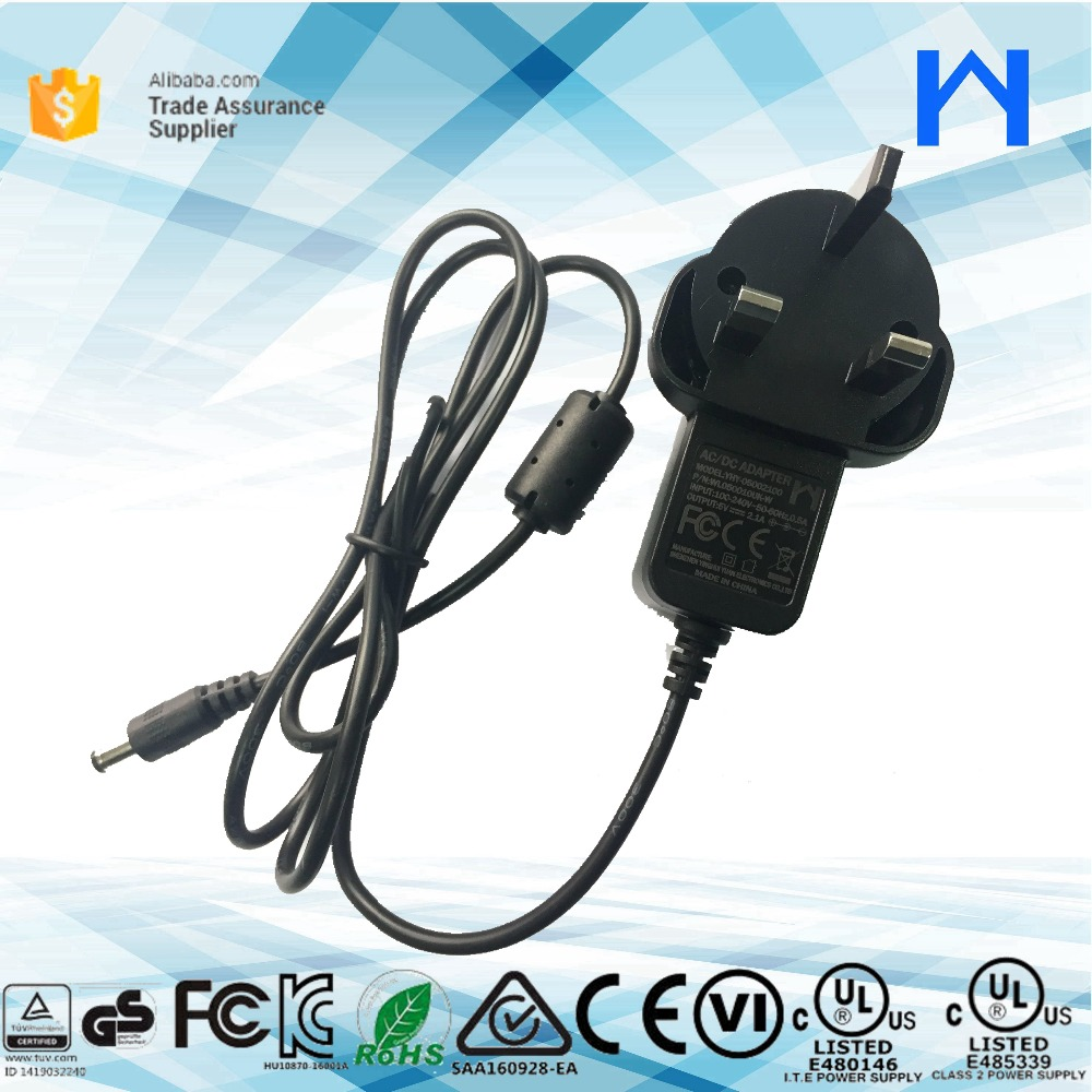 Wall type ac adapter 5V 2.1A AC to DC plug in Power Adapter 5V 2.1A for christmas tree adapter charger