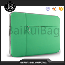 "Neoprene laptop Sleeve Protective Case For 13"" Laptop Computer and Ultrabook Cover Bag For Charger"