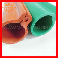 Red/Green/Yellow Silicone Rubber Overhead Line Insulated Sleeving