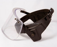 New patented mounting bracket for ballistic visor / face shield