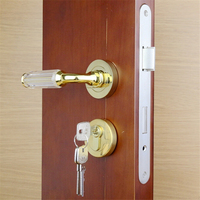 Hardware Bedroom Furniture Set Lock Lever