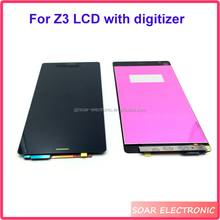 China supplier LCD with digitizer for Sony Xperia Z3,mobile phone LCD screen for Sony Xperia Z3