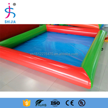 0.9mm Adult inflatable square water pool