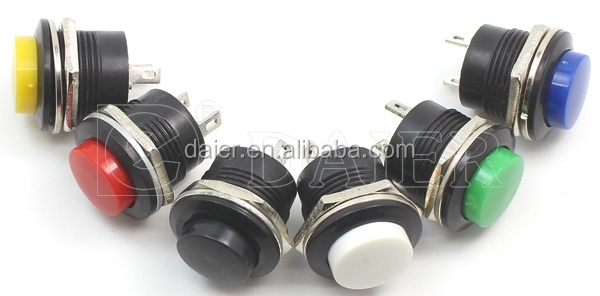 16mm pushbutton switch
