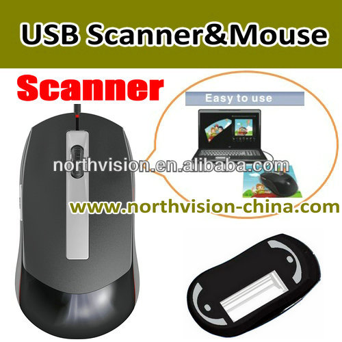 scanner mouse usb with OCR text recognition