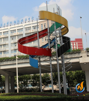 2017 A symbol of the new modern city modern sculpture outdoor decoration