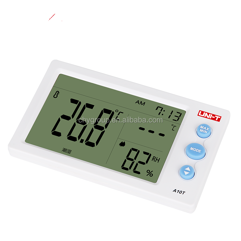 High precision UNI-T A10T zigbee <strong>temperature</strong> and humidity sensor control cabinet/meter