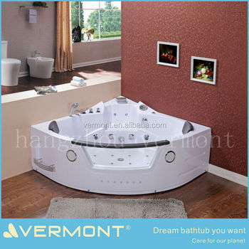 spa massage bathtub corner