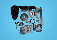Cheap gas powered 2 stroke 49cc bicycle engine kit 80cc 50cc 66cc