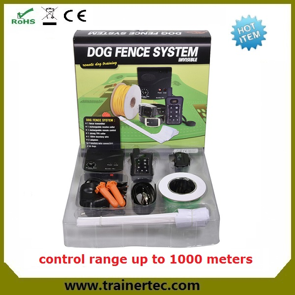 Trainertec mobile adjustable folding pet fence DF-113R with a remote control