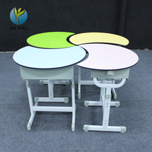 Round study table chair for student reading chair