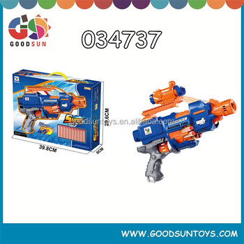 Factory direct sale B/O soft toy gun spray gun for kids with en71 for wholesale
