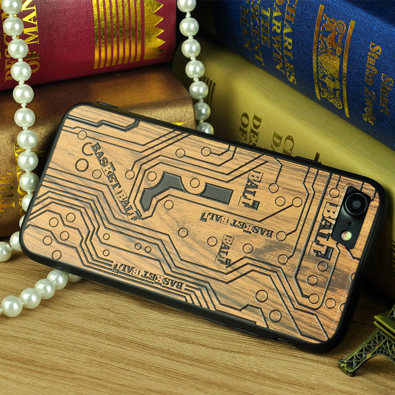 Custom Cartoon Design 3D Sublimation Printing tpu imitation wood phone back cover for Apple iPhone 5c Case