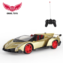 hot selling 1:14 lighting sports cars model toys diecast rc car for kids