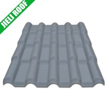 carbon fiber roof tile upvc roof tile for civil building and villa roofing material