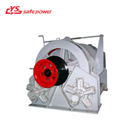 5ton hydraulic winch used to carry heavy cargo for lifting