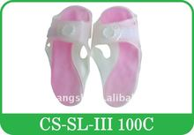 reusable colourful gel cool slipper