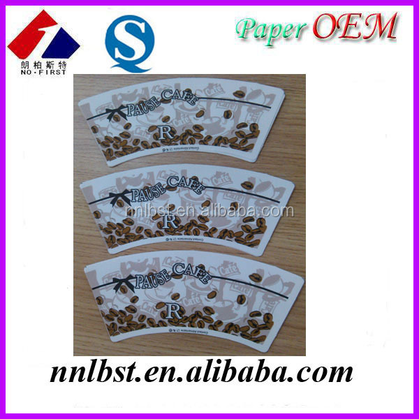 Printed Paper Cup Board PE Made in China