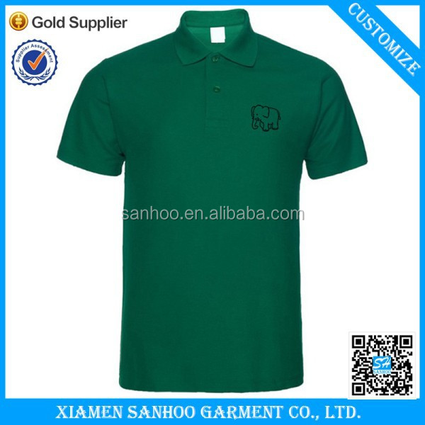 2016 Polo Shirt For Men 100% Cotton Top Quality With Embroidered Logo