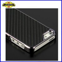 Deluxe Luxury Carbon Fiber Clip Hard Case Cover For Apple Iphone 5 5G 5th, All Colors are Avialable----ShenZhen Laudtec
