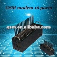16ports module Remote control RJ45/USB/RS232 interface gsm modem support linux/plastic sim card box
