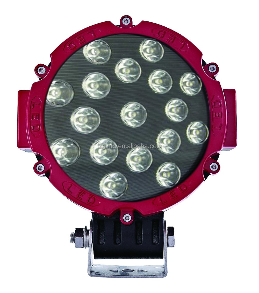 Hot sale round 51W 7 inch LED work light for off road, depo auto lamp