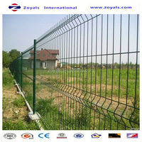 Manufacturer ISO9001 widely used pvc welded canada temporary fence
