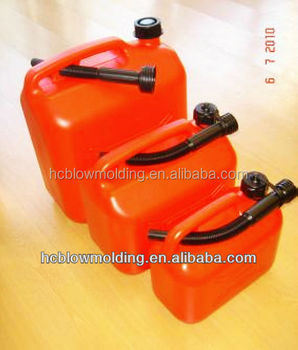 OEM Customize HDPE plastic jerry cans 5L/10L oil drum/green jerrican