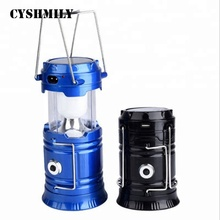 CYSHMILY Outdoor Rechargeable Fishing Light Portable Lamp Solar Handle Led Lanterns For Camping