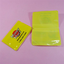 Waterproof customized business name card holder