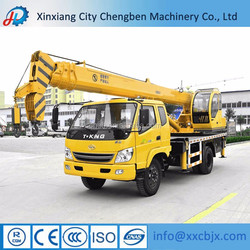 Chinese truck mounted mobile crane for rental business