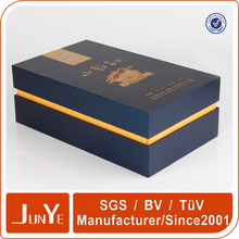 Customized dimension of carton wine paper box