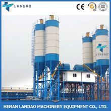 Factory Direct Sell HZS90 Concrete Mixing Plant With Concrete Mixer