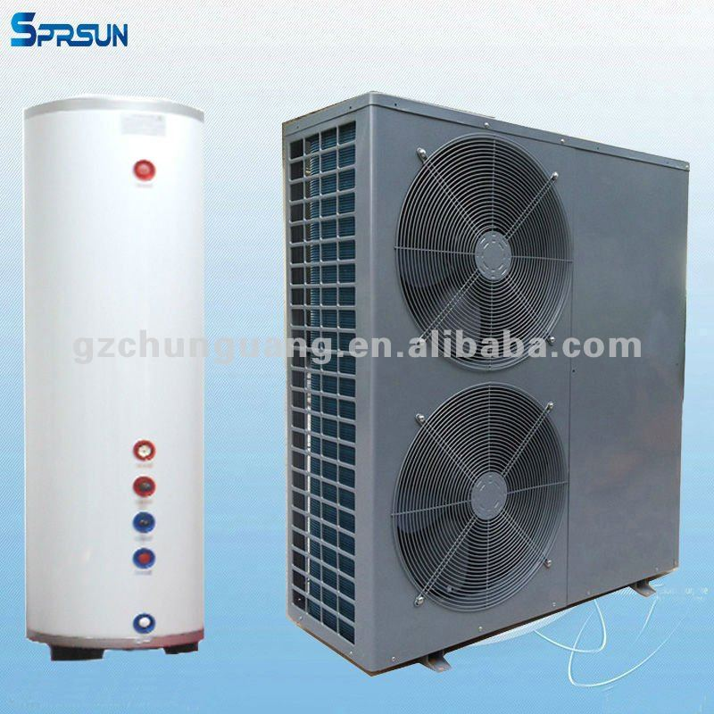 air - water evi heat pumps split air conditioner and heater