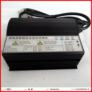 Electric car DC 48V switching model battery charger AC110~240V for lead-acid battery