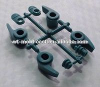 injection molded soft rubber parts malti cavities molding