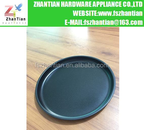 10inch Carbon Steel Round Pizza Pan /Non-stick Baking Tray /Pizza Tray