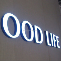 Best price and quality lighting led resin channel letters