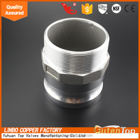 Part E male camlock quick coupling/hose fitting
